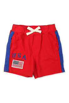 RALPH LAUREN USA cotton shorts 9-24 months