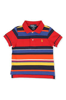 RALPH LAUREN Striped polo shirt 9-24 months