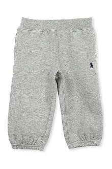RALPH LAUREN Cotton fleece jogging bottoms 6-24 months
