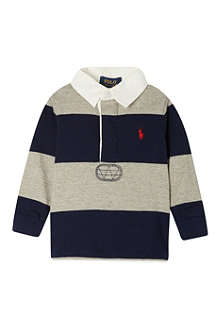 RALPH LAUREN Long-sleeved rugby shirt 9-24 months
