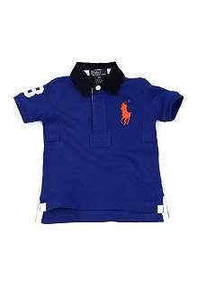 RALPH LAUREN Big Pony rugby shirt 9-24 months