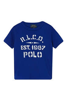 RALPH LAUREN Graphic t-shirt 9-24 months