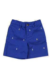 RALPH LAUREN Anchor chino shorts 9-24 months