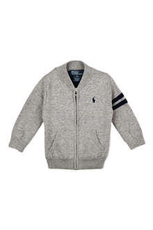 RALPH LAUREN Cotton baseball jacket
