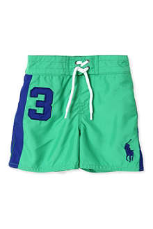 RALPH LAUREN Sanibel Big Pony trunks 9-24 months