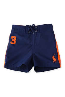 RALPH LAUREN Sanibel Big Pony swimming trunks 12-24 months