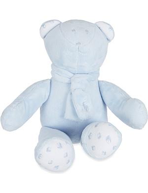 RALPH LAUREN Fleece scarf teddy bear