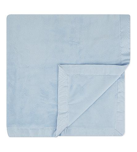 RALPH LAUREN Plush blanket (Beryl+blue