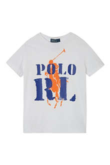 RALPH LAUREN Graphic cotton t-shirt 9-24 months