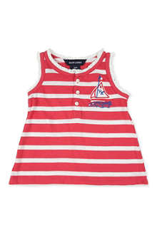 RALPH LAUREN Striped vest 9-24 months