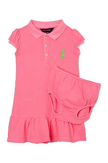 RALPH LAUREN Big Pony polo dress 9-18 months