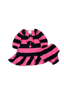 RALPH LAUREN Ruffled rugby dress 3-24 months