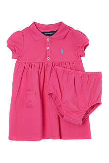 RALPH LAUREN Babydoll polo dress set