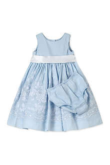 RALPH LAUREN Broderie anglaise dress and knicker set 9 months-2 years