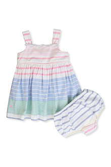 RALPH LAUREN Striped Oxford dress 3-24 months