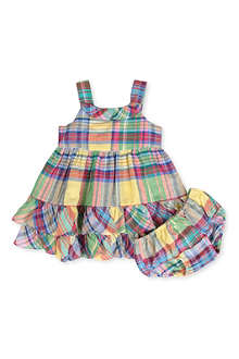 RALPH LAUREN Checked dress 3-24 months