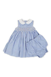 RALPH LAUREN Striped dress 3-24 months