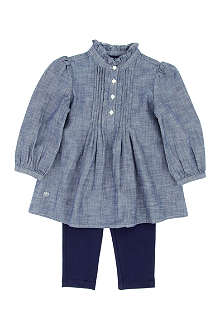 RALPH LAUREN Tunic leggings set 1-6 years