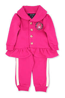RALPH LAUREN Two-piece fleece tracksuit 9-24 months
