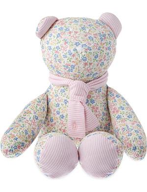 RALPH LAUREN Floral print teddy bear