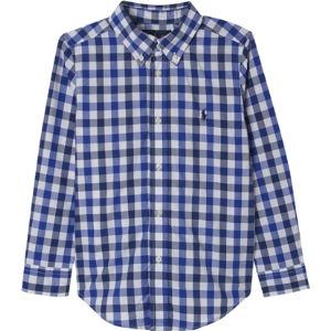 Cotton check shirt 2-7 years