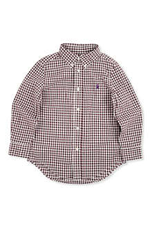 RALPH LAUREN Long-sleeved blake shirt 2-7 years