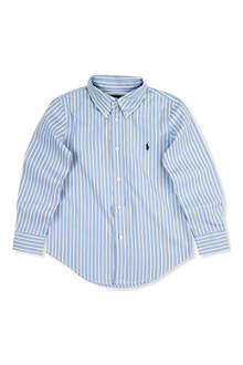 RALPH LAUREN Custom fit striped shirt 2-7 years
