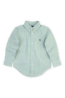RALPH LAUREN Custom-fit stripe shirt 2-7 years