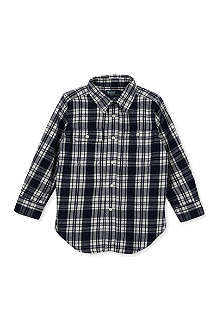 RALPH LAUREN Checked Matlock shirt 2-7 years