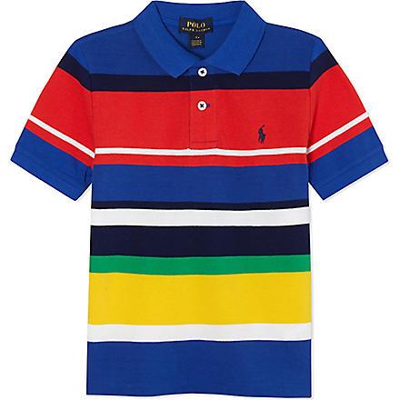 Ralph Lauren: Colour-block pony polo shirt 2-7 years - Hiphunters Shop