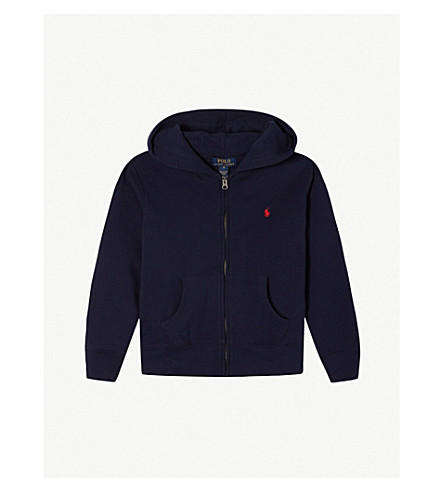 RALPH LAUREN Zip-up hoodie 5-7 years (Cruise+navy