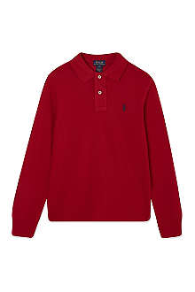 RALPH LAUREN Long-sleeved polo top 5-7 years