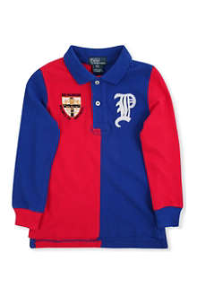 RALPH LAUREN Long-sleeved 5050 polo shirt 2-7 years