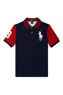 RALPH LAUREN USA polo t-shirt 2-7 years