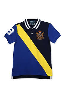 RALPH LAUREN Novelty crest polo shirt 3-7 years
