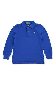 RALPH LAUREN Classic long-sleeved polo shirt 2-7 years
