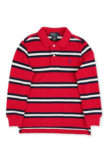RALPH LAUREN Long-sleeved classic polo shirt 2-7 years