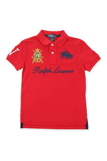 RALPH LAUREN Crest polo shirt 2-7 years