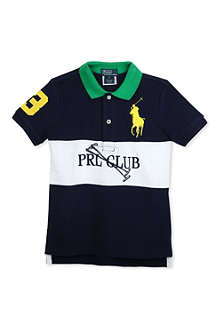 RALPH LAUREN Novelty colourblock polo shirt