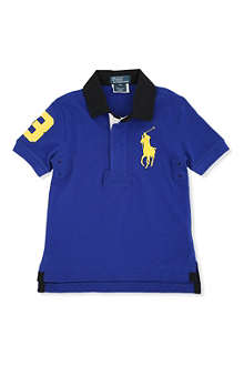 RALPH LAUREN Big Pony rugby shirt 2-7 years