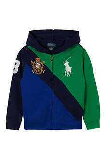 RALPH LAUREN Big Pony banner hoodie 2-7 years