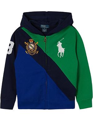 RALPH LAUREN Big Pony banner hoodie 2-7 years