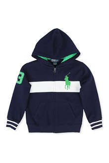 RALPH LAUREN Big Pony number hoody 2-7 years