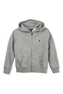 RALPH LAUREN Cotton fleece hoody 5-7 years