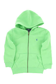 RALPH LAUREN Full-zip hoodie 2-7 years