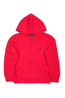 RALPH LAUREN Ralph Lauren zip through hoodie 2-7 years