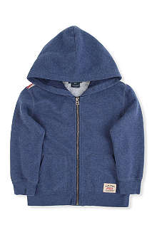 RALPH LAUREN American flag hoody 2-7 years