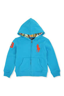 RALPH LAUREN Big Pony hoody 2-7 years