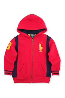 RALPH LAUREN Long-sleeved polo pony hoody 2-7 years