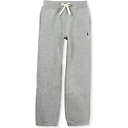 RALPH LAUREN Stretch-jersey jogging bottoms 5-7 years (Grey